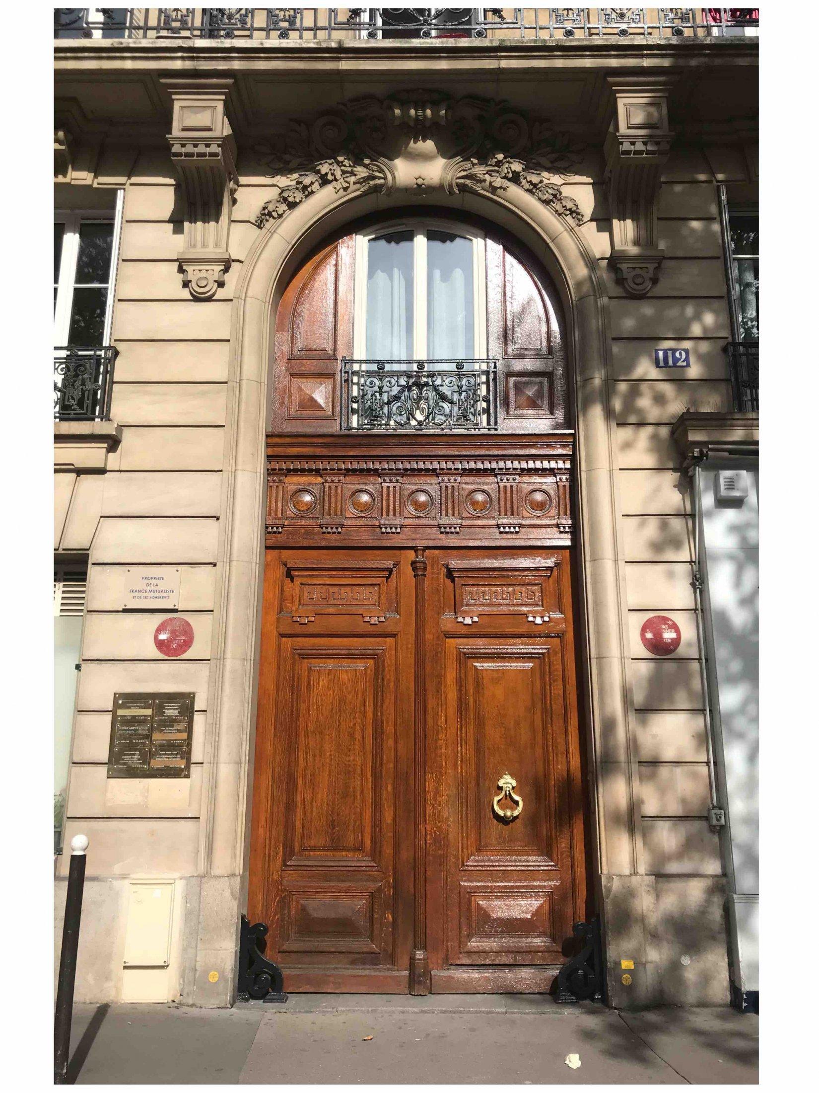 9a85d0ac41f94 112 AVENUE DE COURCELLES – Atelier de Menuiserie