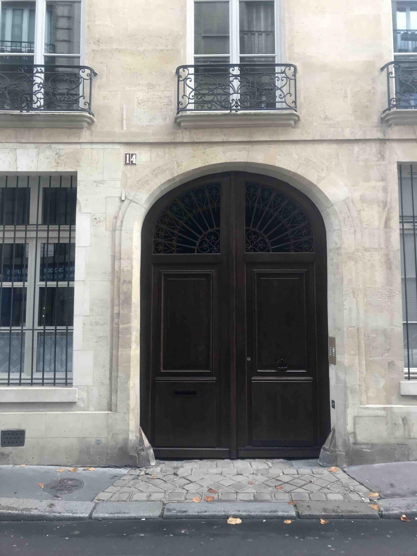 14 RUE ELZEVIR PARIS 3