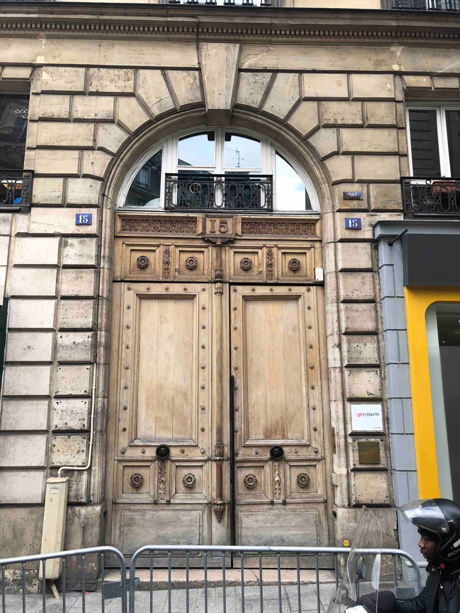 15 RUE DE CLERY PARIS 2