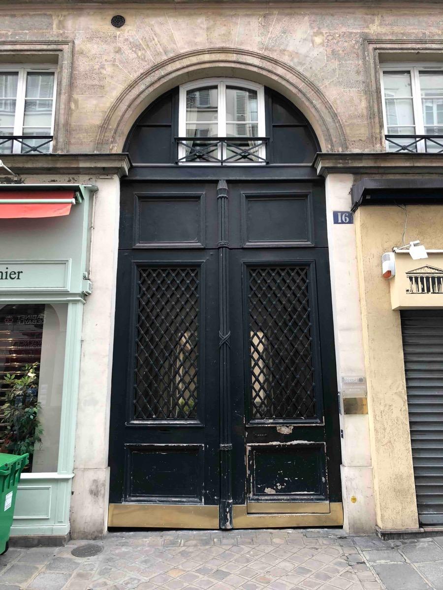 16 RUE VIGNON PARIS 8
