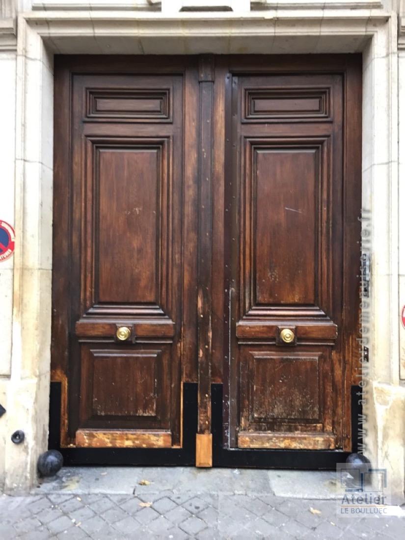 2014 10 Porte Cochère 39 Rue Bouret Après Tvx