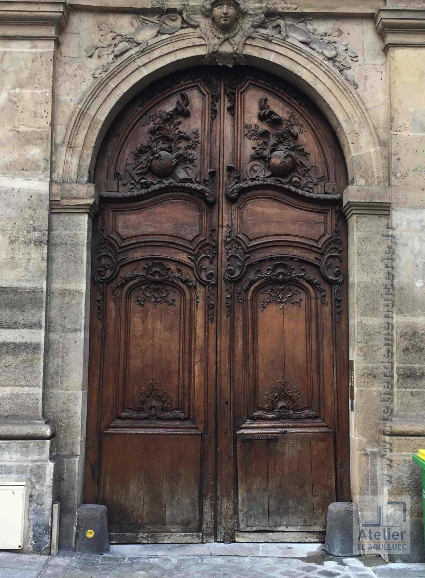 2015 06 Porte Cochère 4 Rue Monsieur Le Prince Coté Extérieur