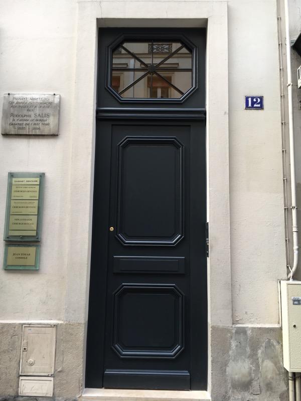 2016 03 Porte Chêne Rue Victor Massé Paris 9