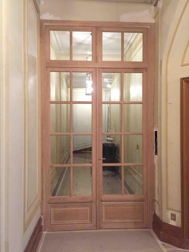2016 09 Porte Sas En Chêne - 2 Rue Des Huissiers Neuilly - Vue D\'ensemble