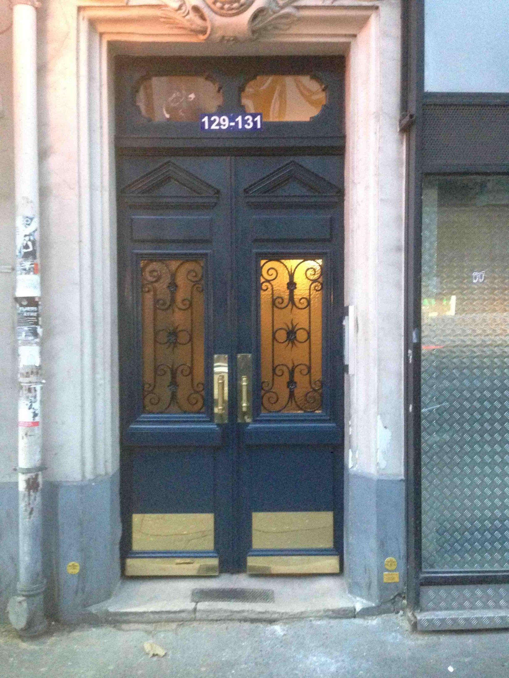 2016 12 porte rue 129 av de saint ouen paris 18 atelier de menuiserie - Porte de saint ouen paris ...
