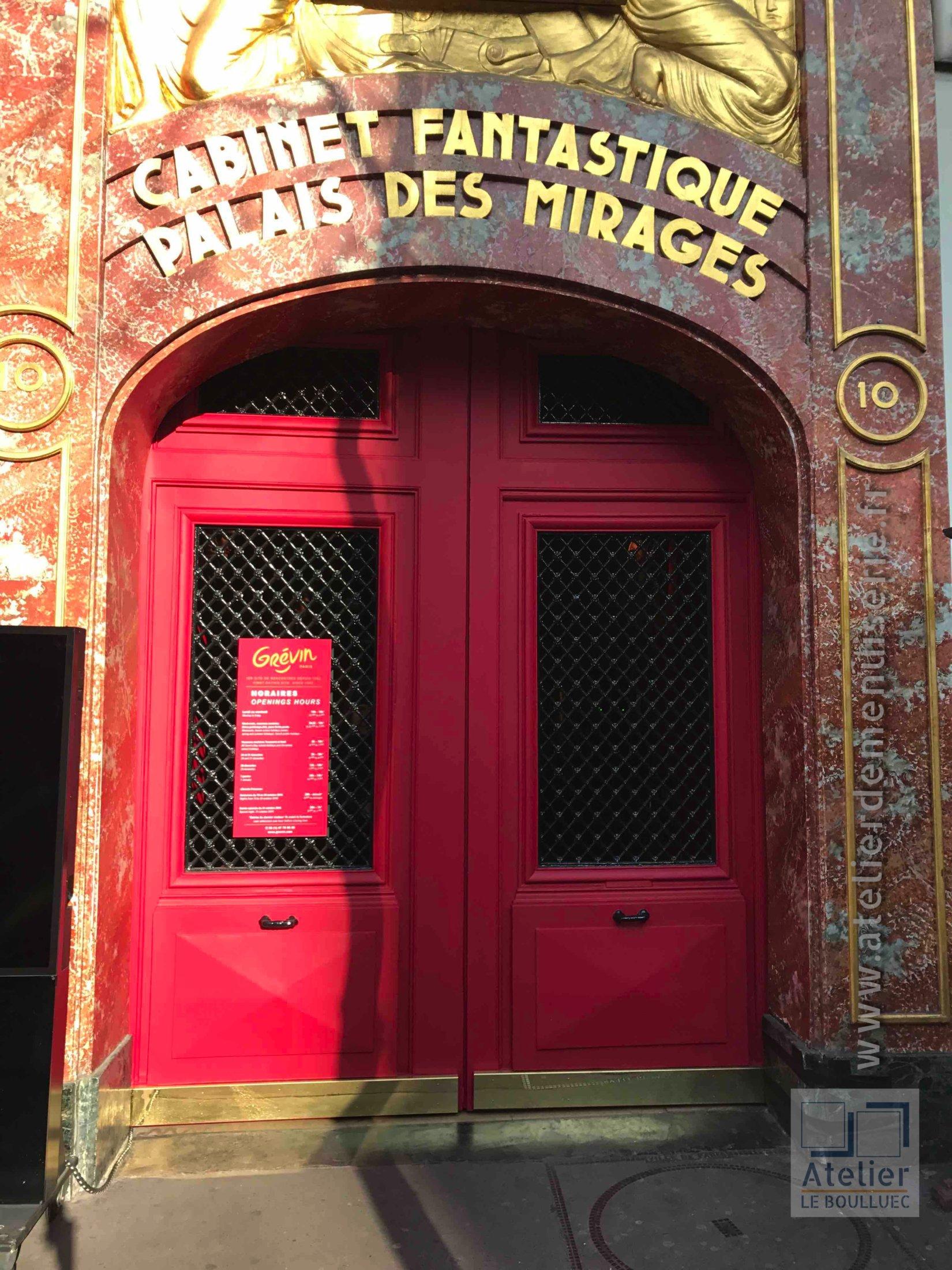 2017 01 Porte Cochère Musée Grevin Après Restauration