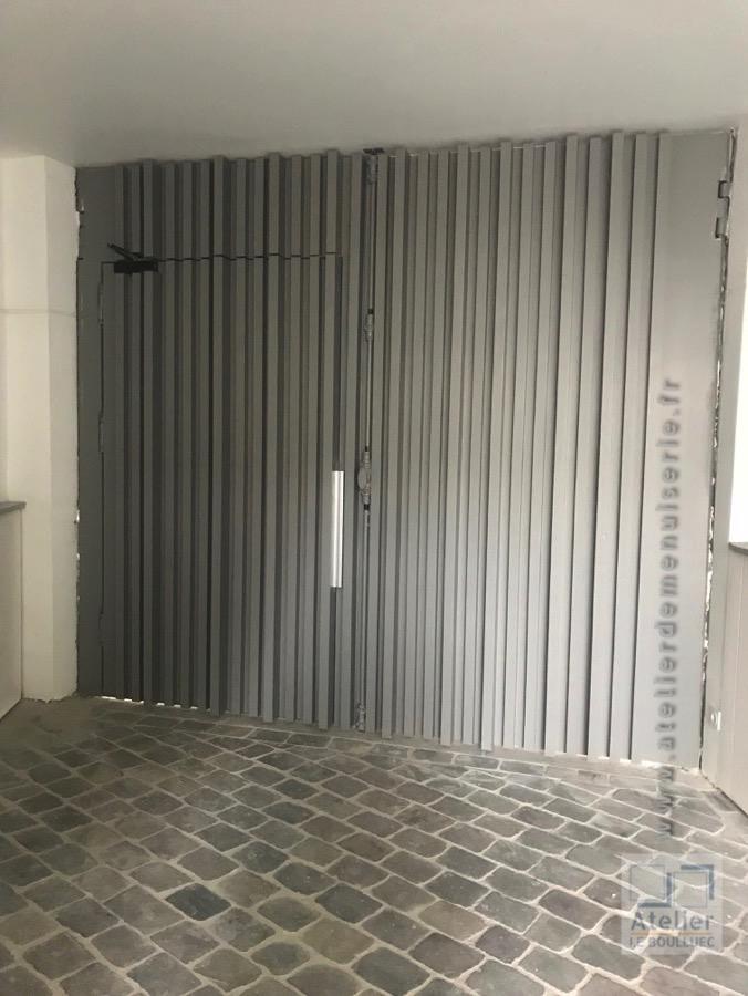 2017 09 Porte Cochère 98 Rue Des Dames Face Intérieure Après Restauration