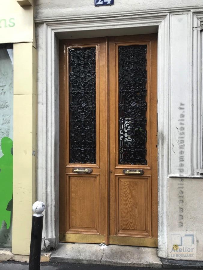 2017 10 Porte Batarde Du 24 Rue Des Dames - Paris 17 Après Restauration Vue D\'ensemble