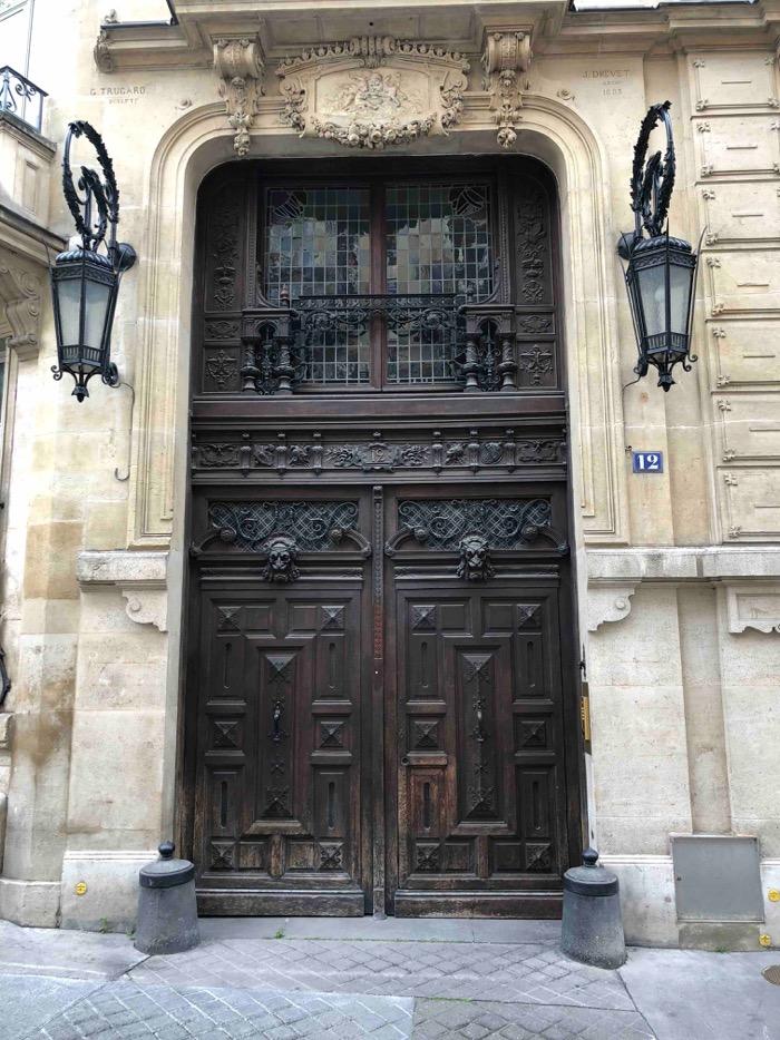 2018 09 Porte Cochère 12 Rue Du Cardinal Mercier - Paris 9 - Photo 0 - Vue D\'ensemble Avant Travaux