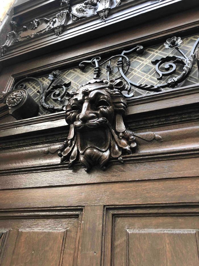 2018 09 Porte Cochère 12 Rue Du Cardinal Mercier - Paris 9 - Photo 2 - Détail 2