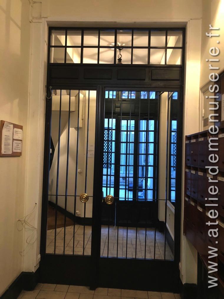 2019 02 Porte Sas Acier - 23 Rue Du Bac Paris 7 Vue D\'ensemble