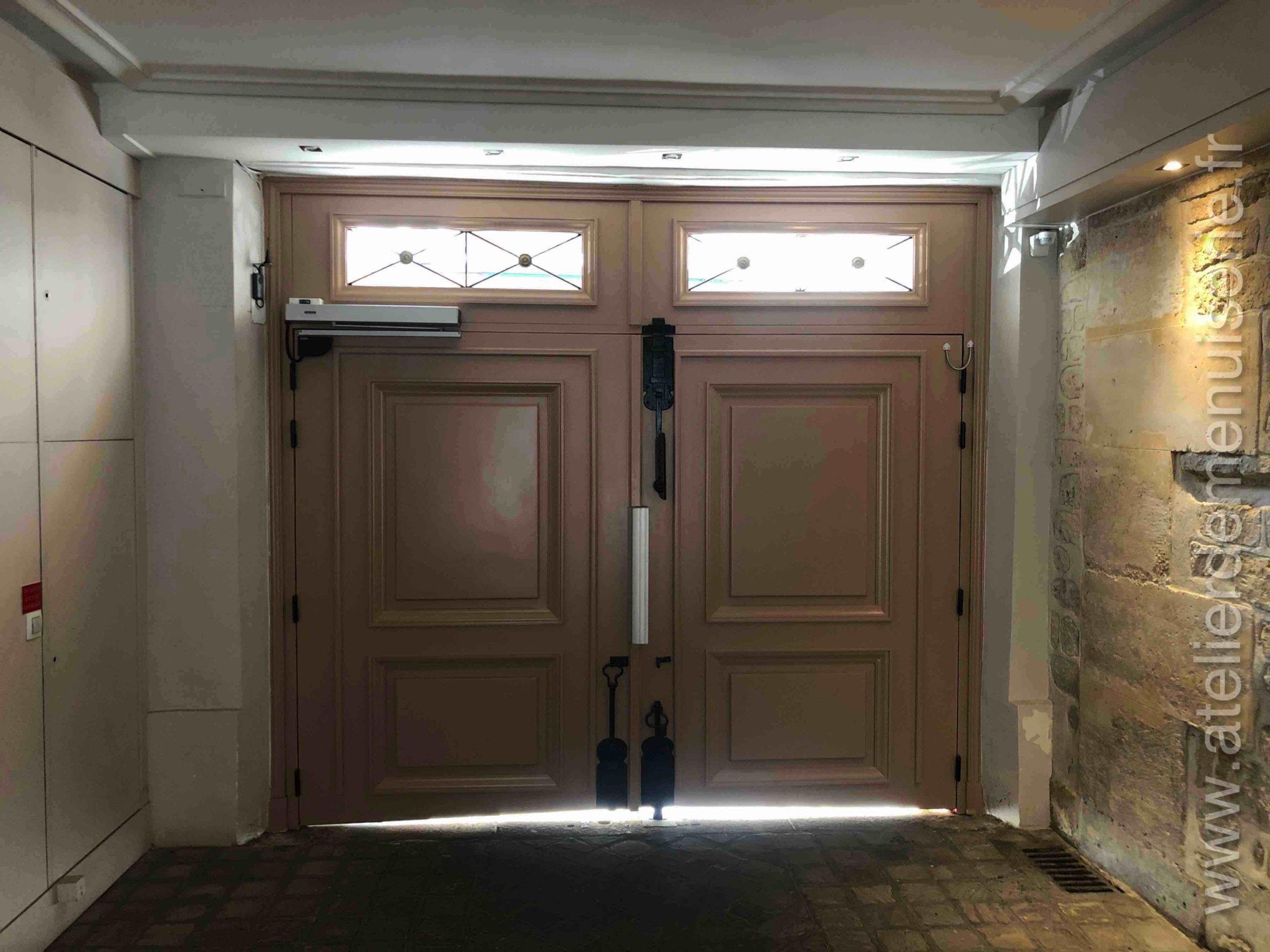 2019 03 - Porte Cochère 16 Rue Pont Aux Choux - Vue Intérieure - Paris 10