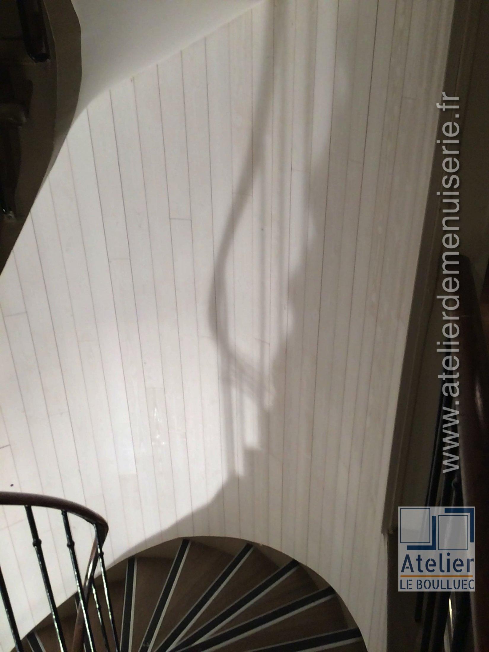 2020 01 Lambris Escalier P2