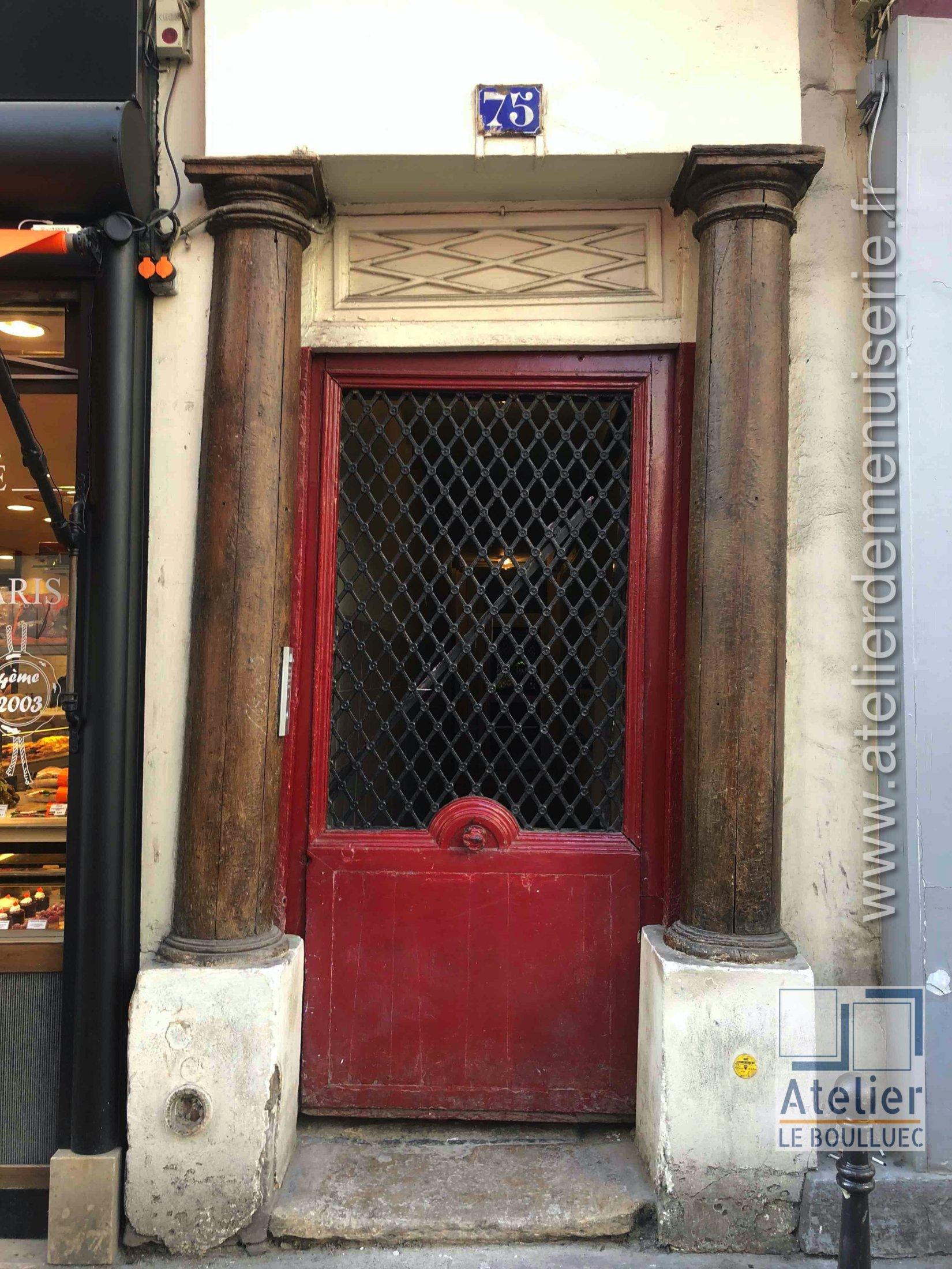 2020 01 Porte Rue 75 Rue Saint Honoré Paris 1er - Avant Travaux