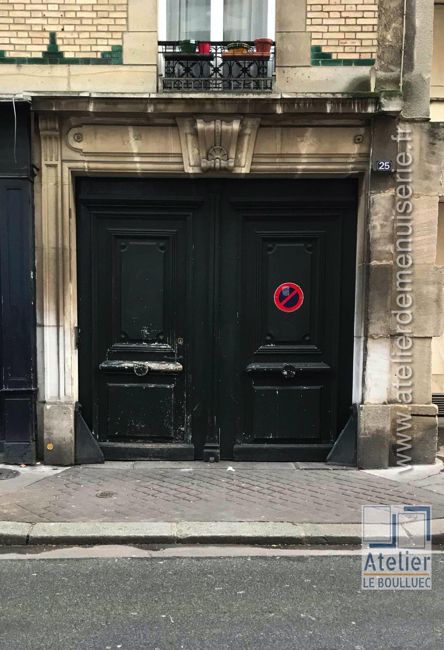2020 02 Porte Cochère 25 Rue Poliveau Paris 5 Avant Travaux