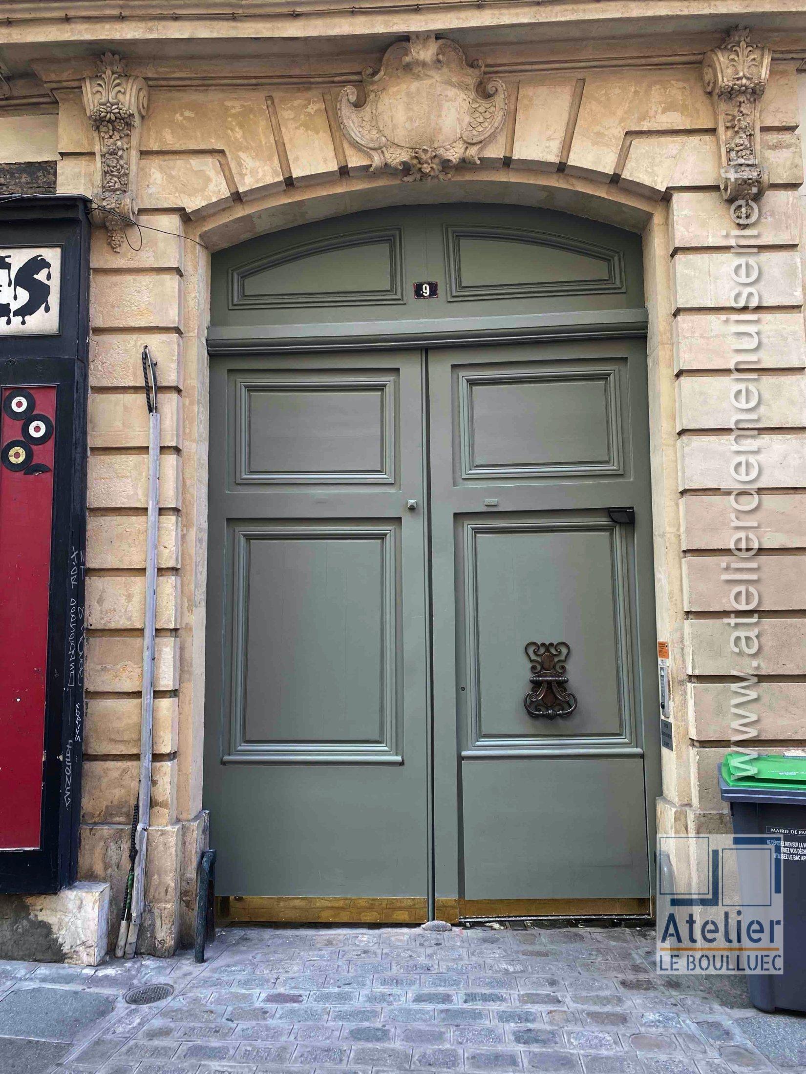 2020 06 Porte Cochère 9 Rue Des Déchargeurs Paris 1 Photo 1 Vue Ext