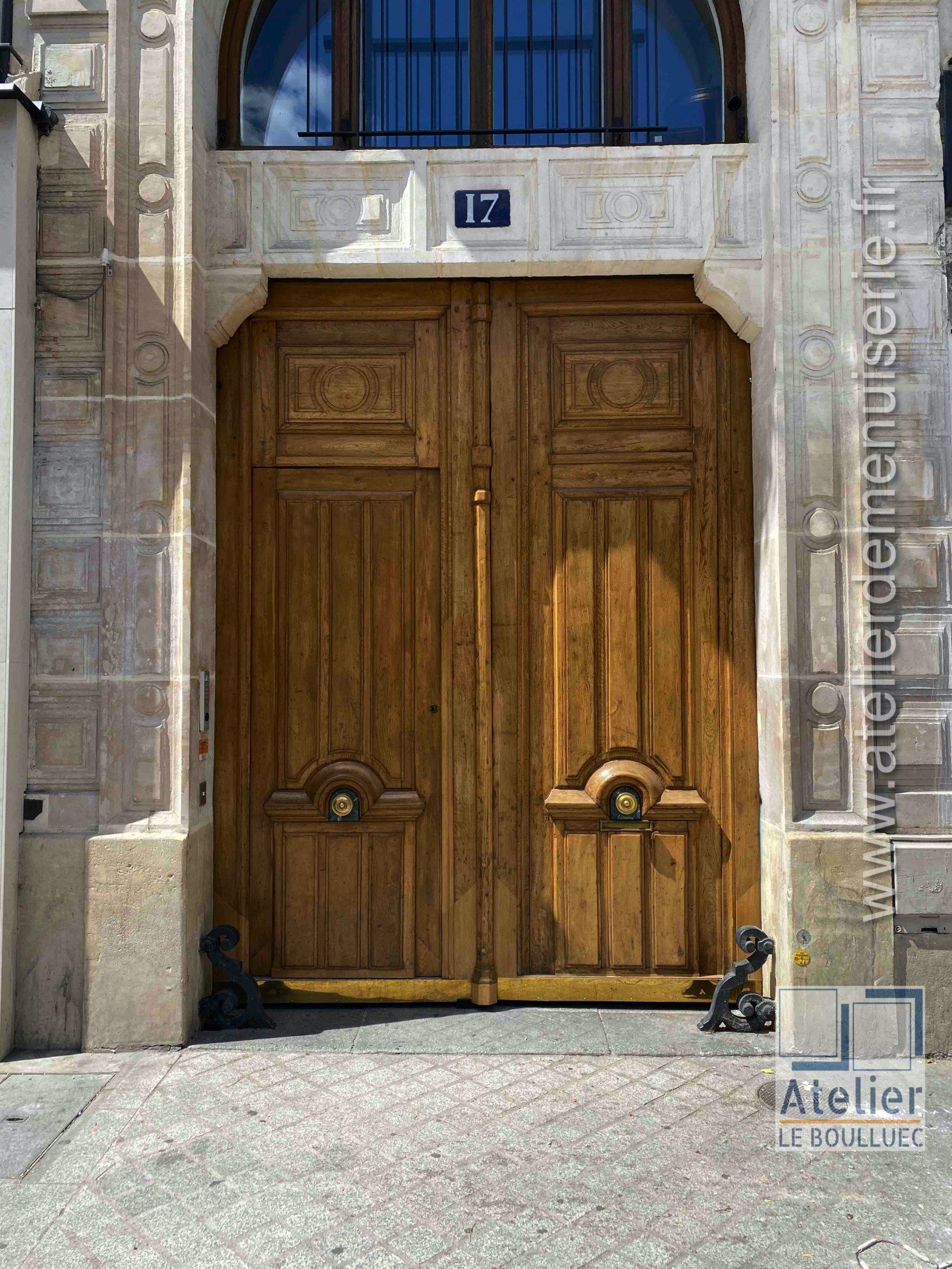 2020 08 Porte Cochère 17 Rue Des Halles Paris 1 Photo 1 Vue Ext