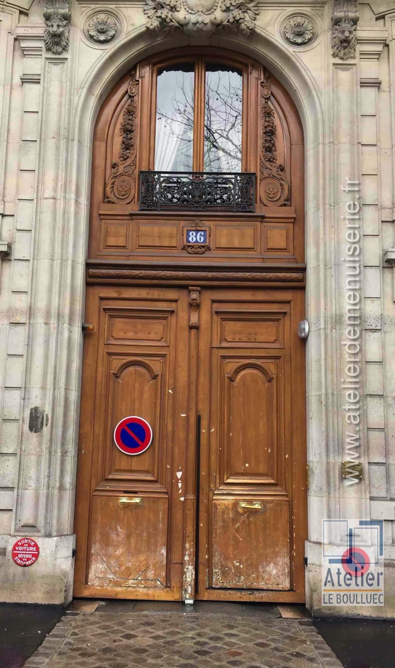 2020 10 Porte Cochère 86 Bd Malsherbes Avant Travaux