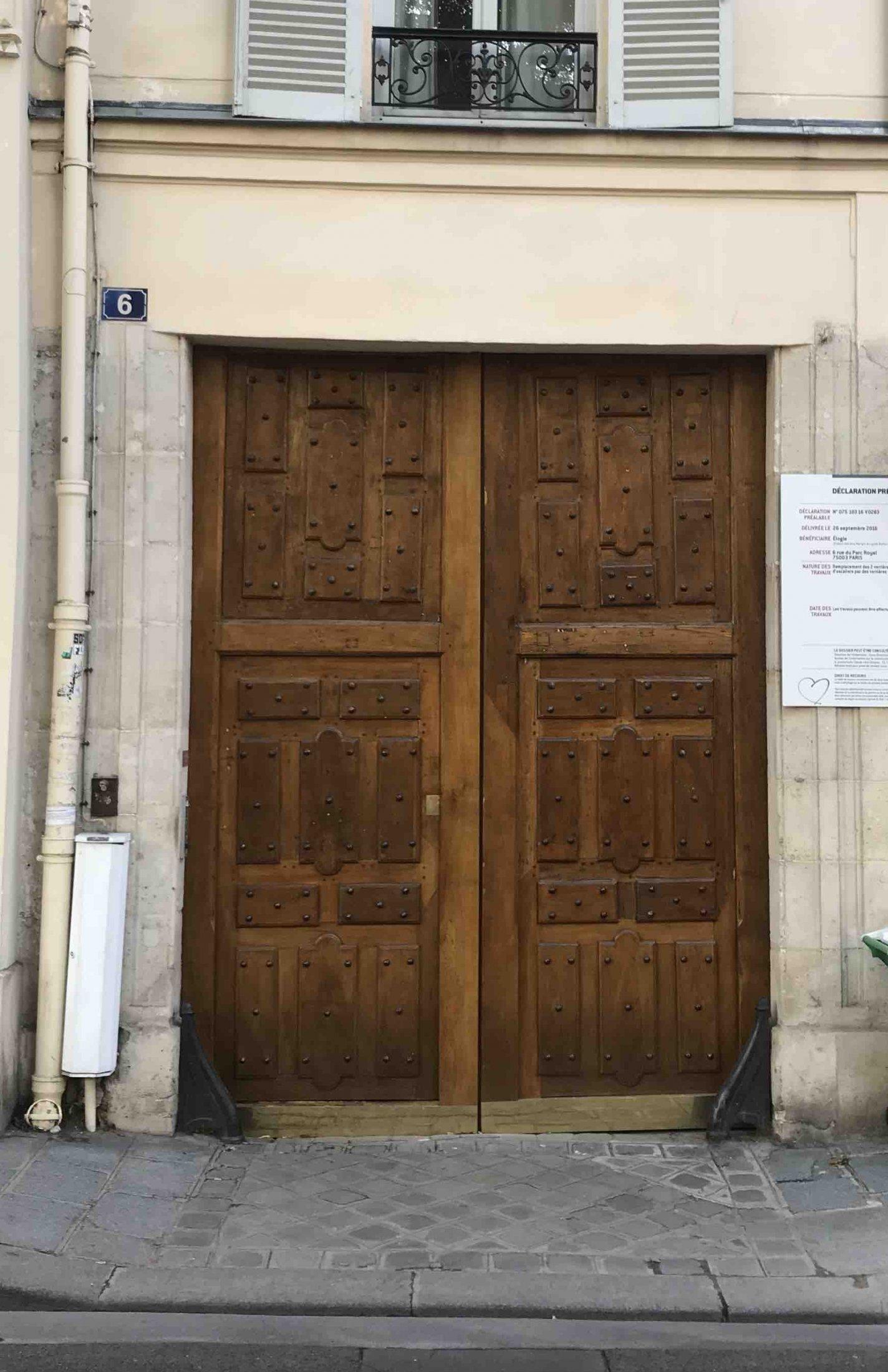 38 RUE PAYENNE PARIS 3