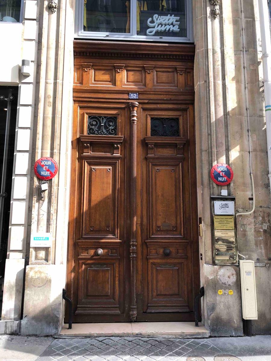 52 RUE ETIENNE MARCEL PARIS 2