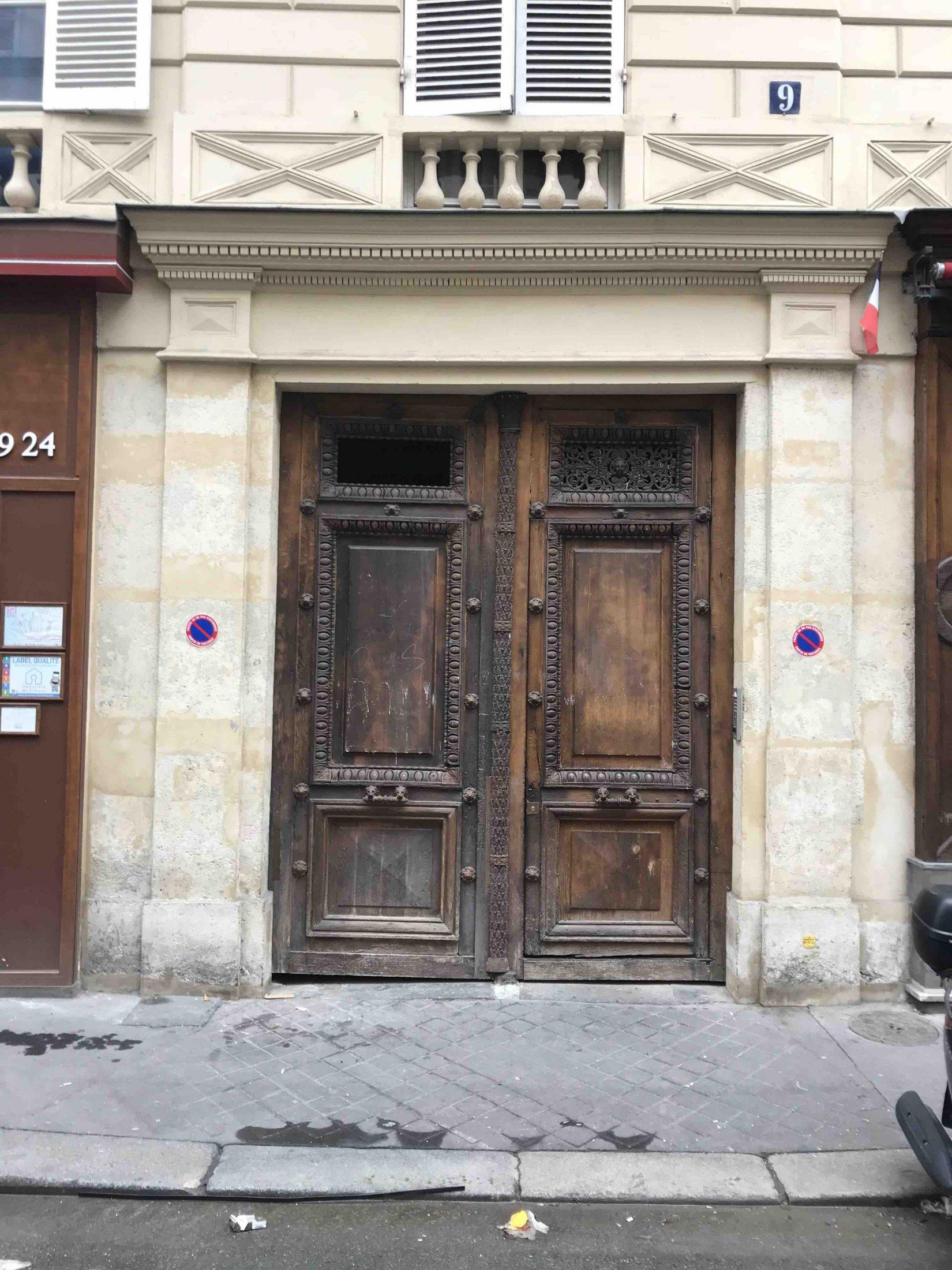 9 RUE DU GRAND PRIEURE PARIS 11