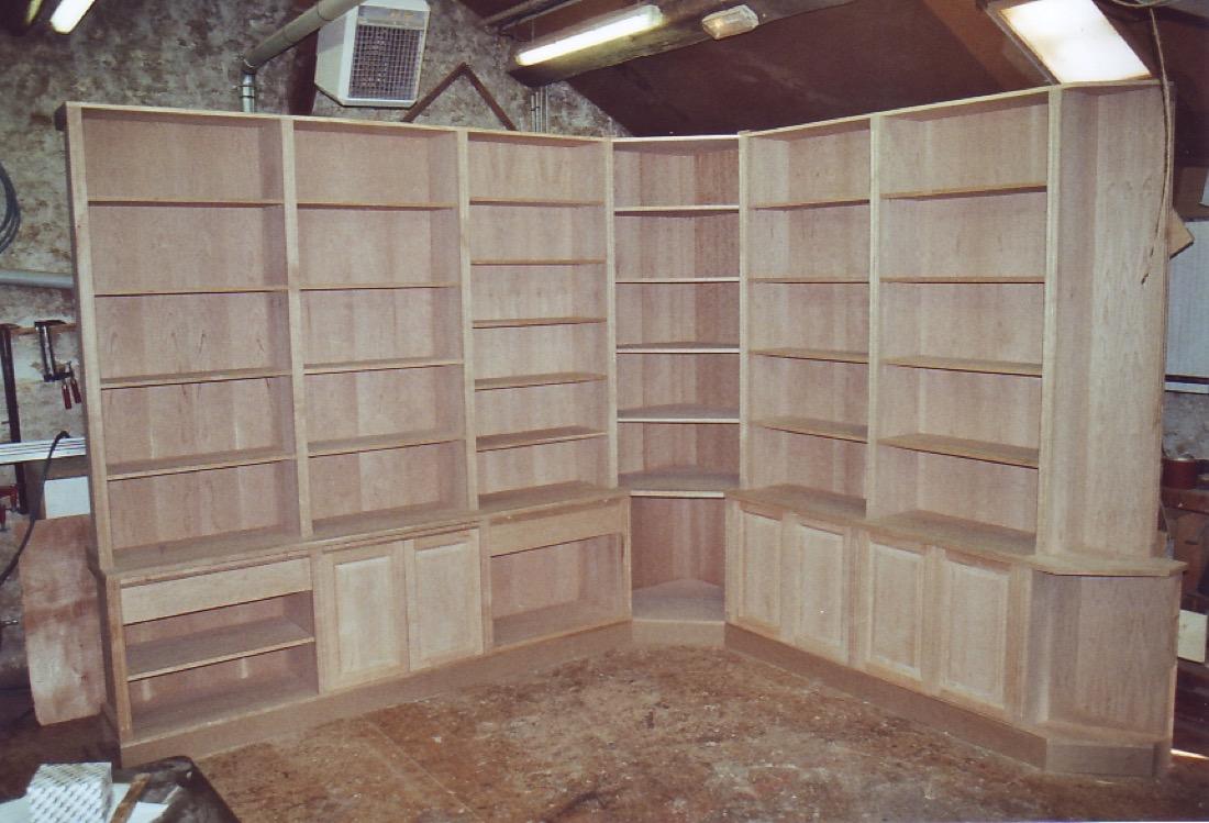 Bibliothèque Carnos 1 Atelier