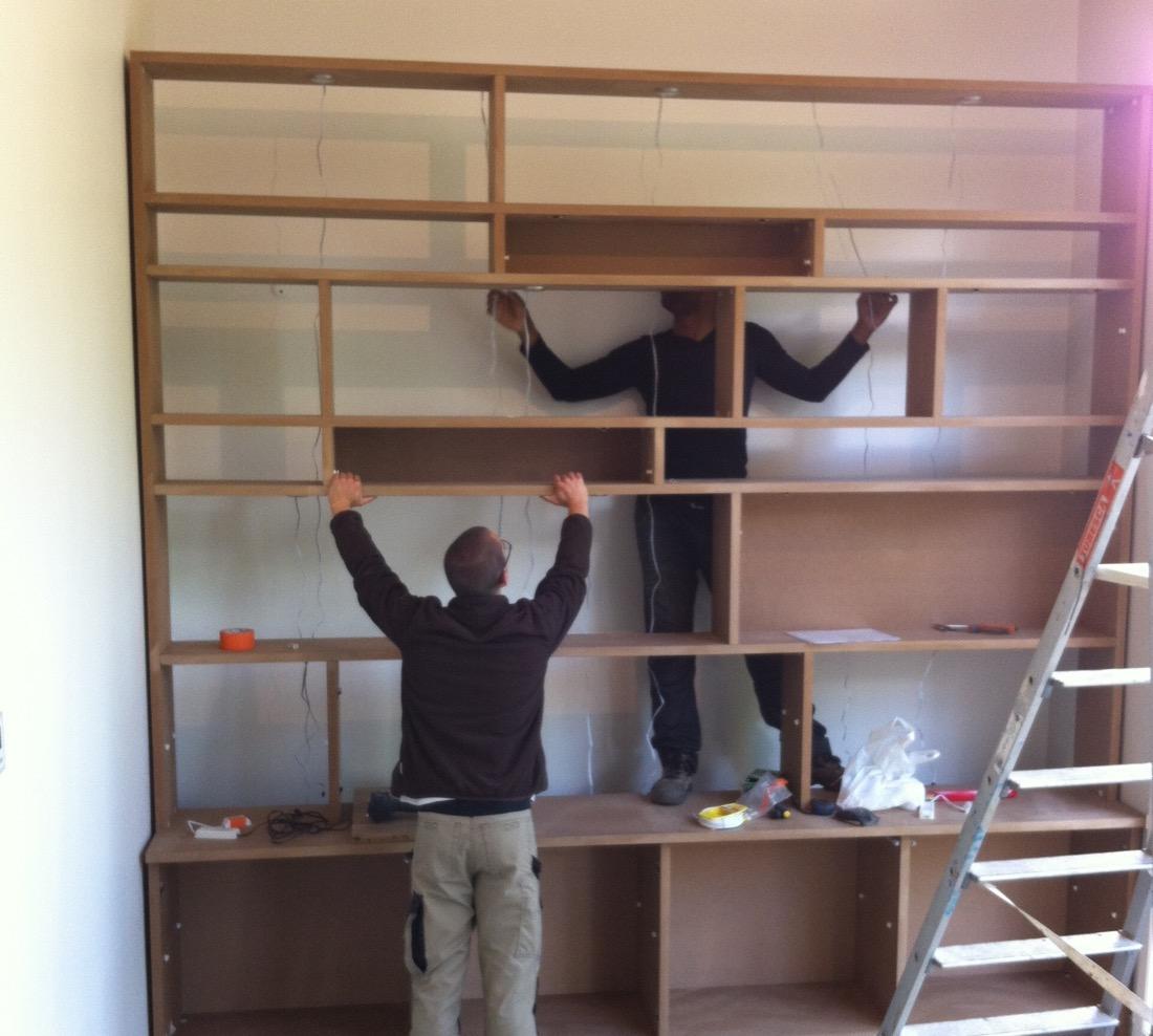 Bibliothèque Daniel 1 En Pose Mod