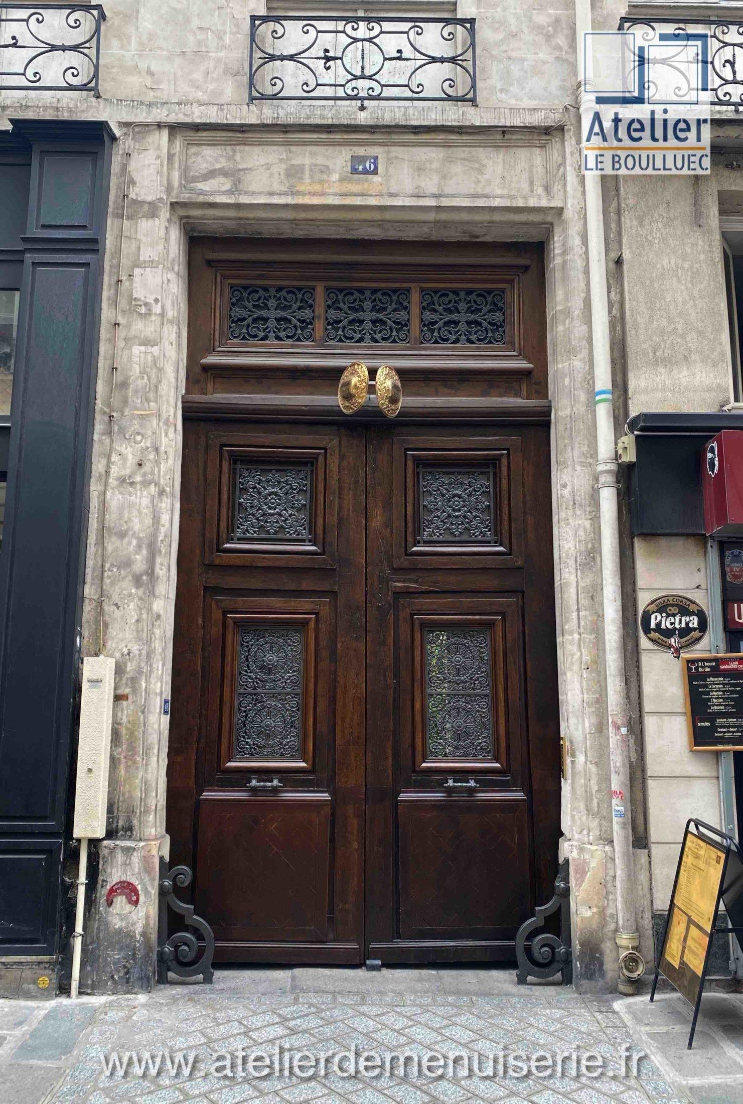 PORTE BATARDE 46 RUE SAINT ANNE PARIS 2