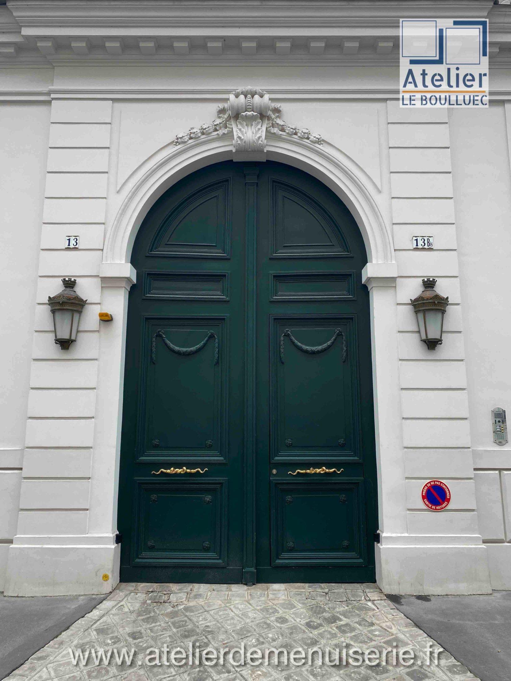 PORTE COCHERE 13 RUE LAS CASES PARIS 7