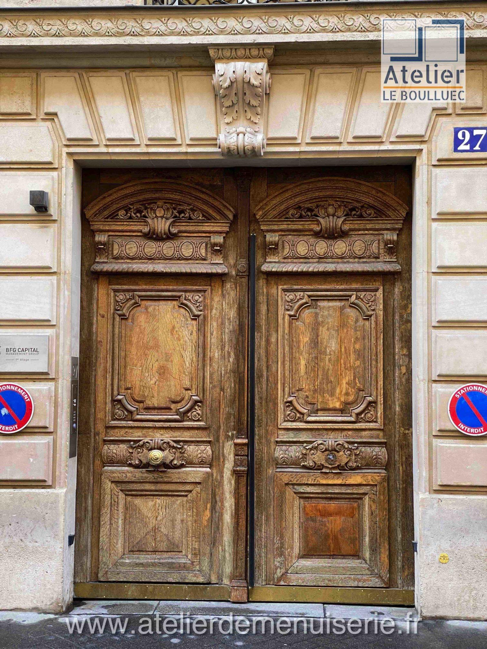 PORTE COCHERE 27 RUE GALILEE PARIS 8