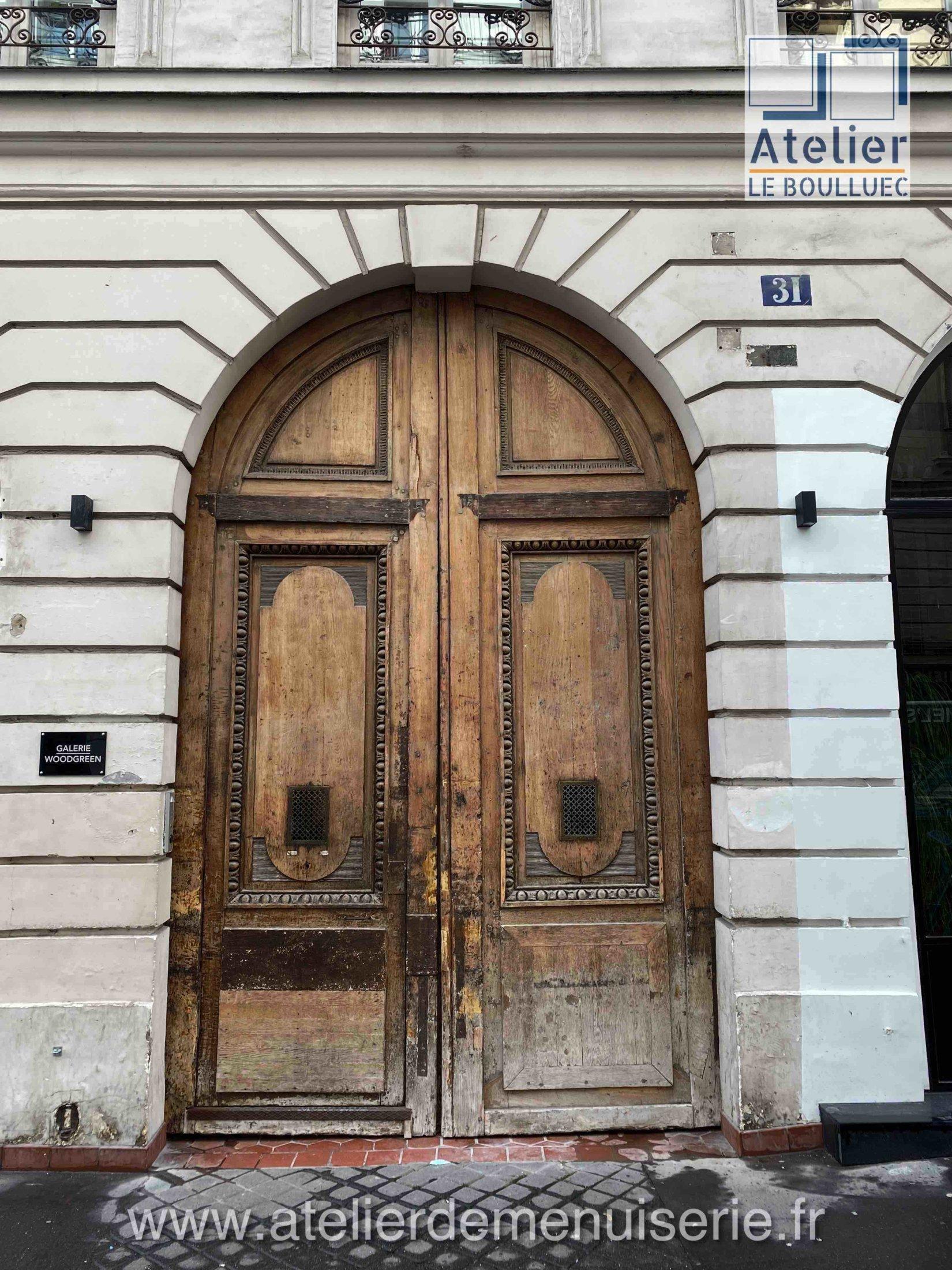 PORTE COCHERE 31 RUE MESLAY PARIS 3