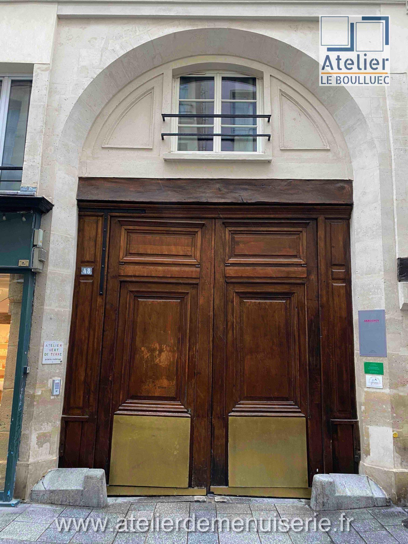 PORTE COCHERE 48 RUE GRENETA PARIS 2