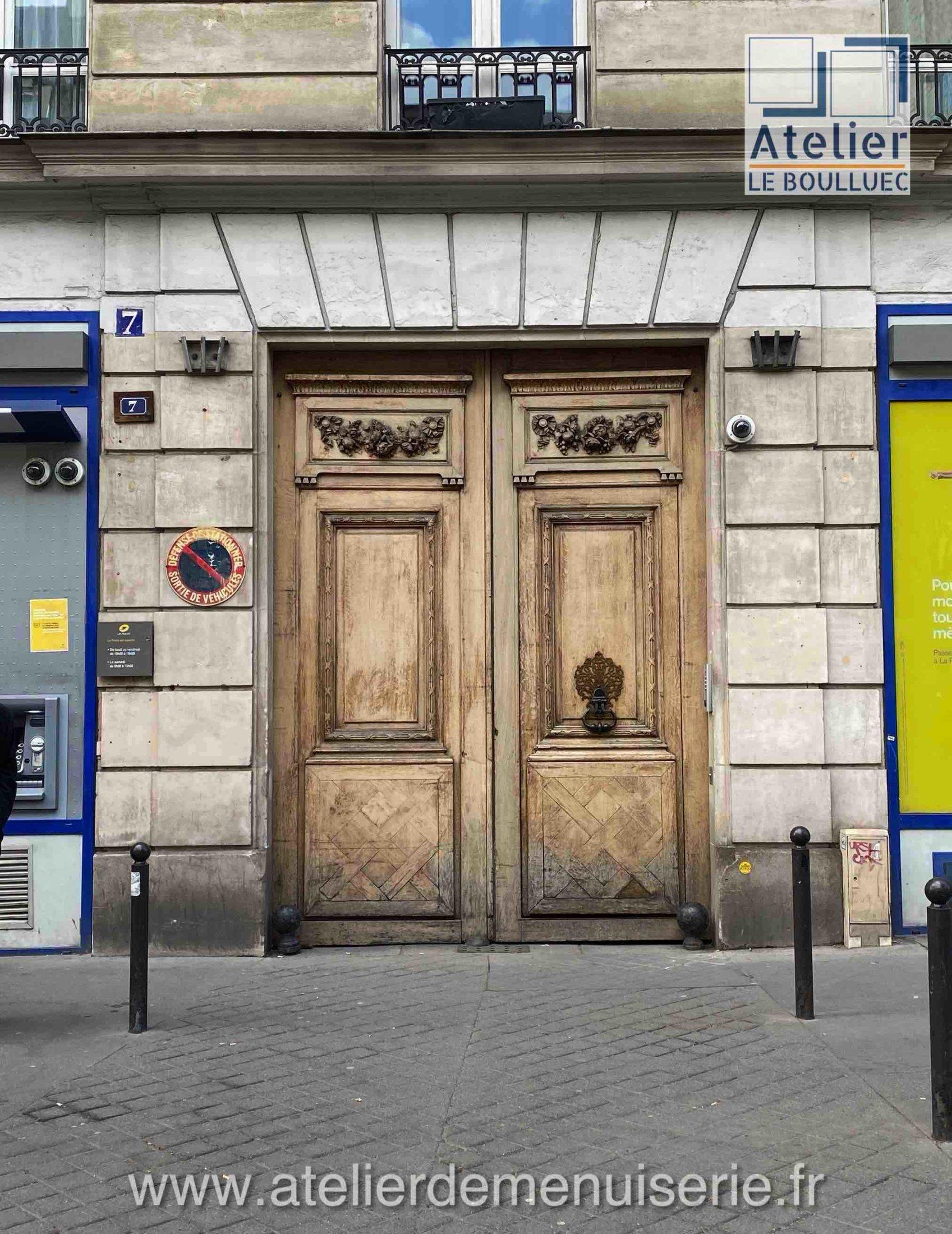 PORTE COCHERE 70 AVENUE PARMENTIER PARIS 11