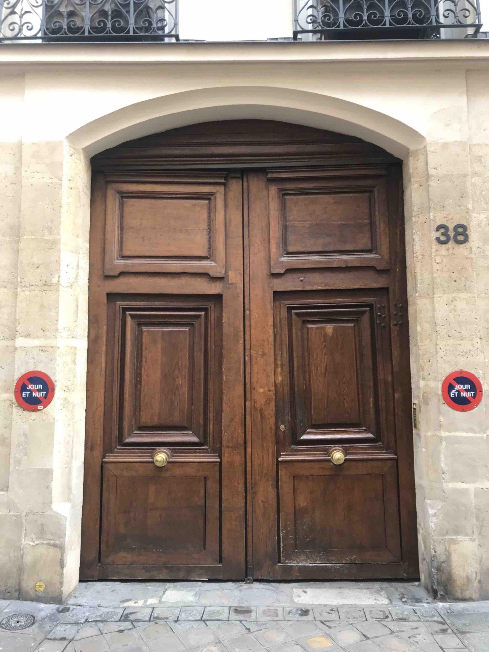 Porte 1 Paris 4