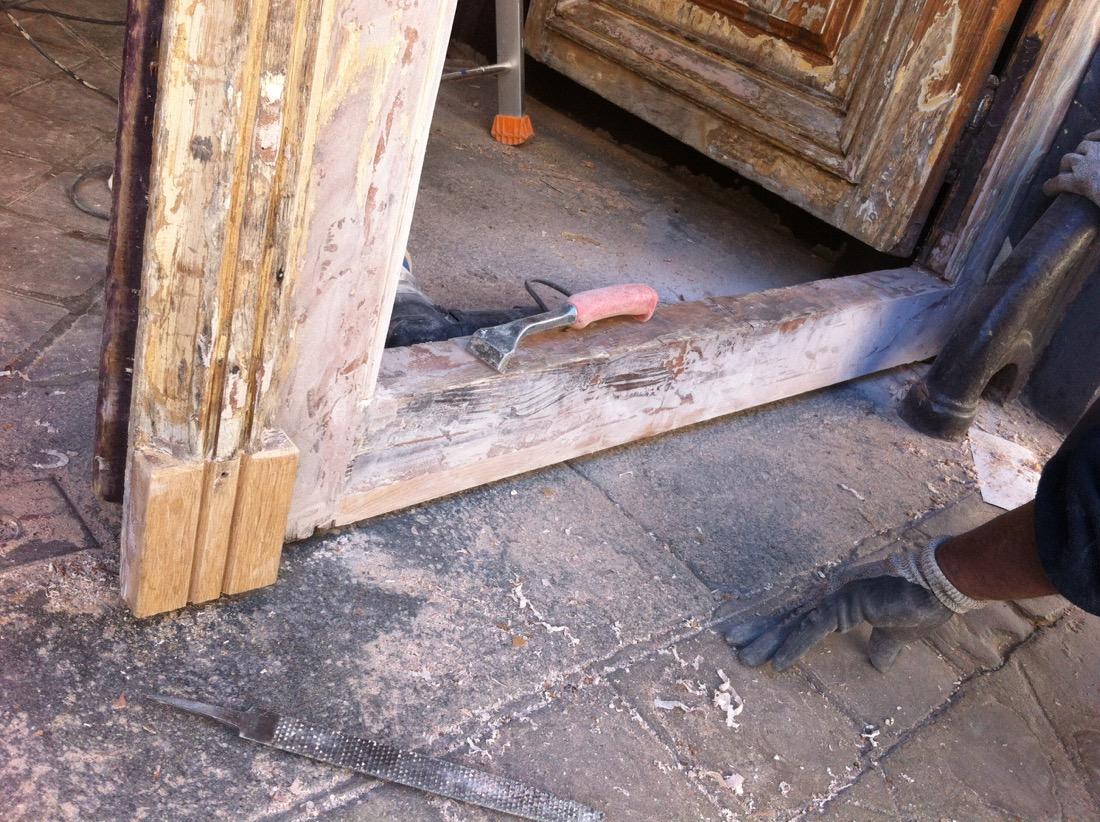 Porte 276 Charenton Vantail D 1 Après Réparations