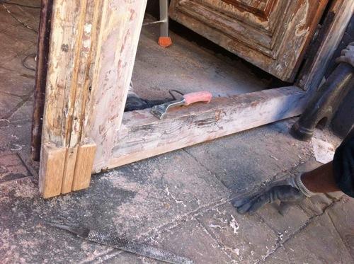 Porte 276 Charenton Vantail D Après Réparations