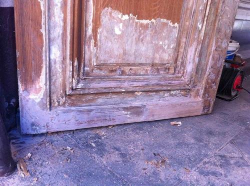 Porte 276 Charenton Vantail G Après Réparation