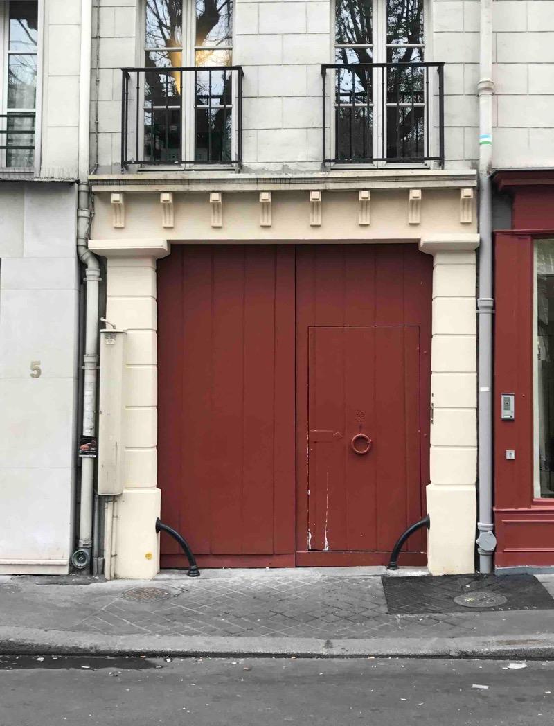 Porte Charrettière - 6 Rue Rameau - Paris 2ème