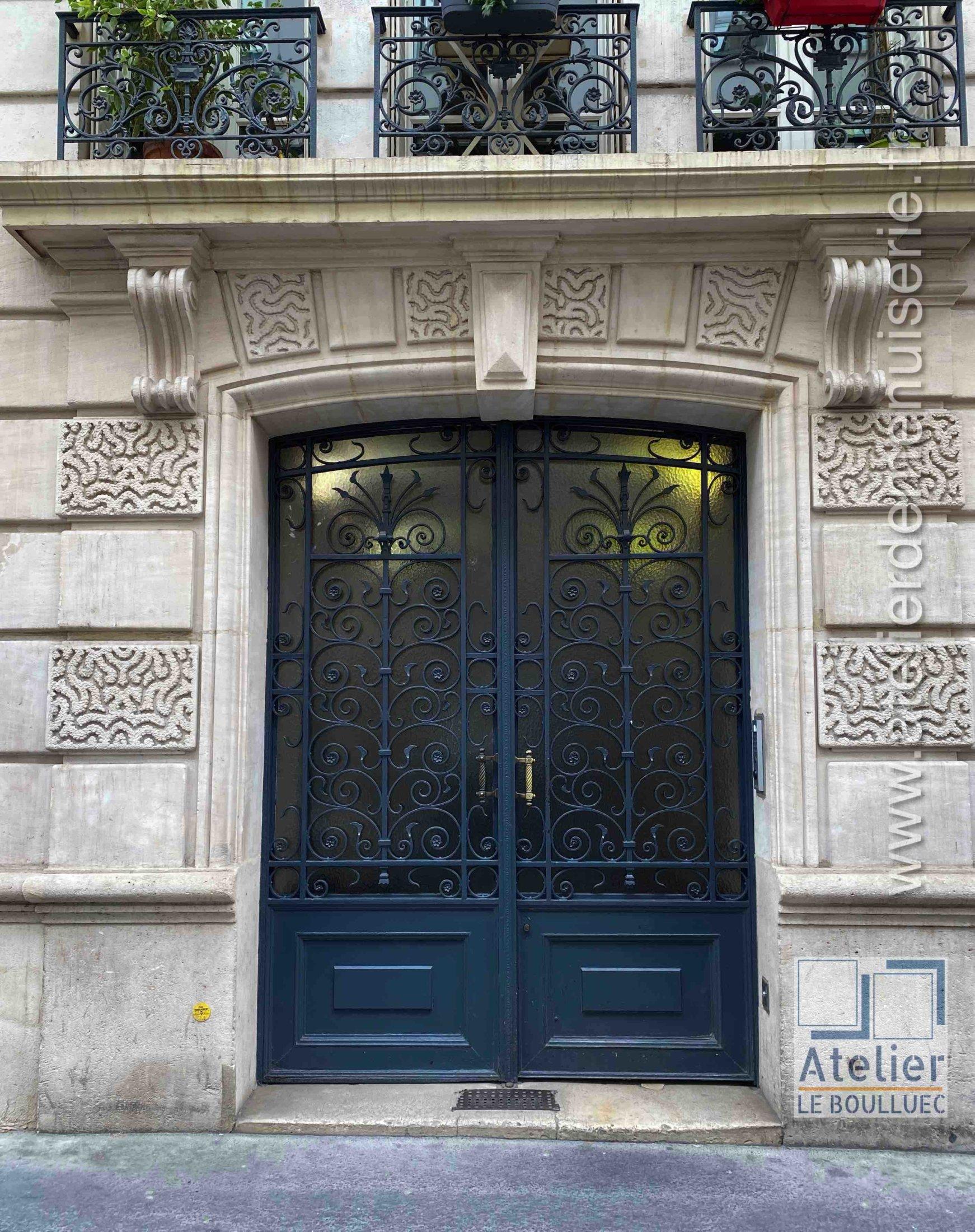 Porte Acier - 15 RUE DES PETITS HOTELS PARIS 10