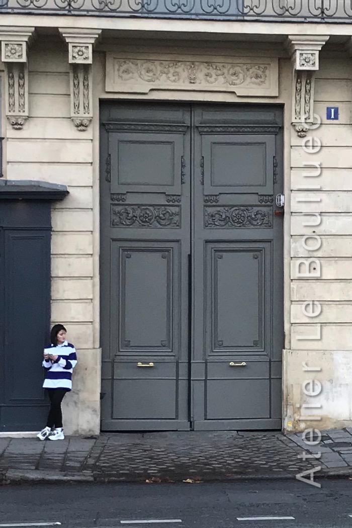 Porte Batarde - 1 QUAI VOLTAIRE PARIS 7