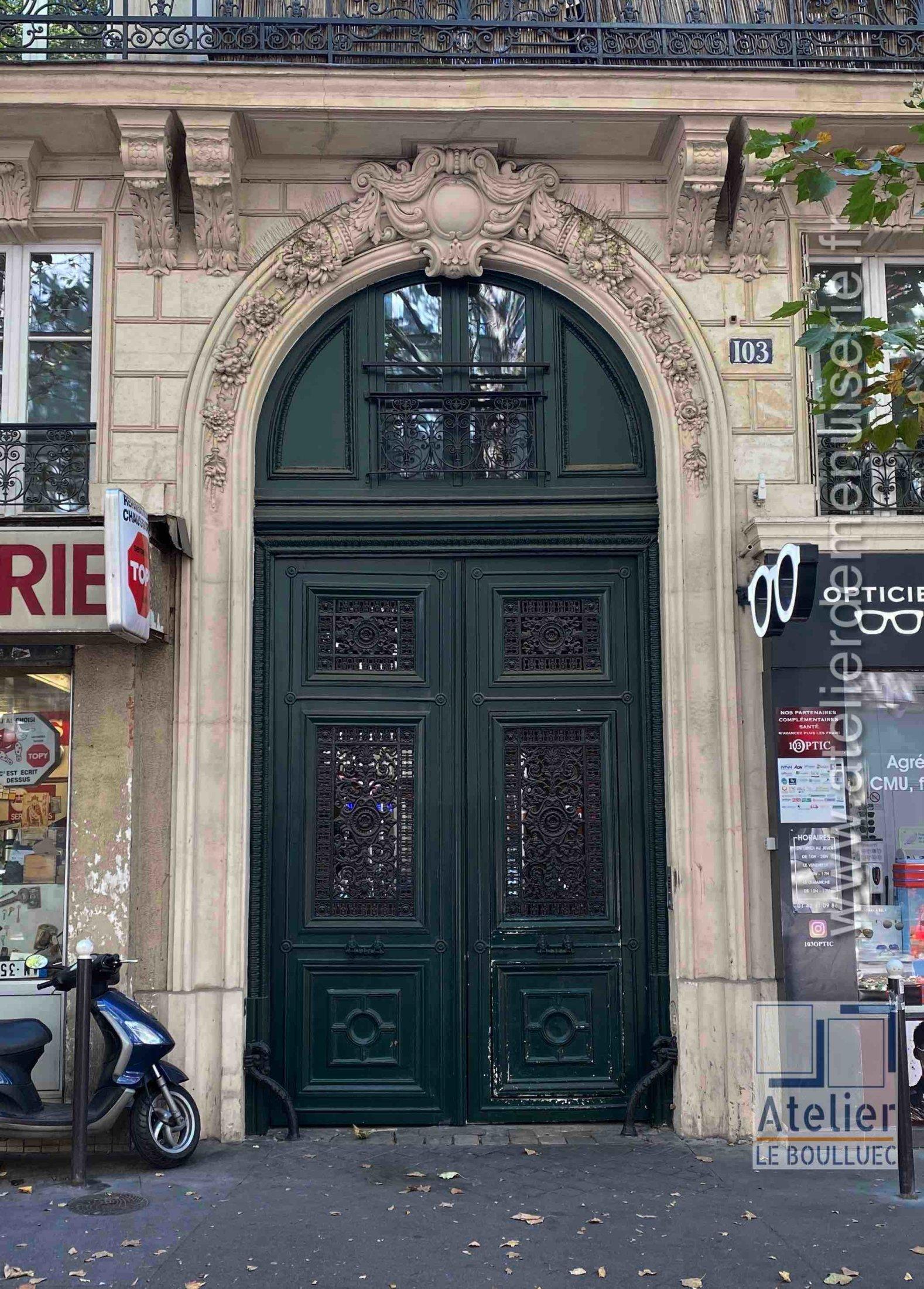 Porte Cochère - 100 AV SIMON BOLIVARD PARIS 19