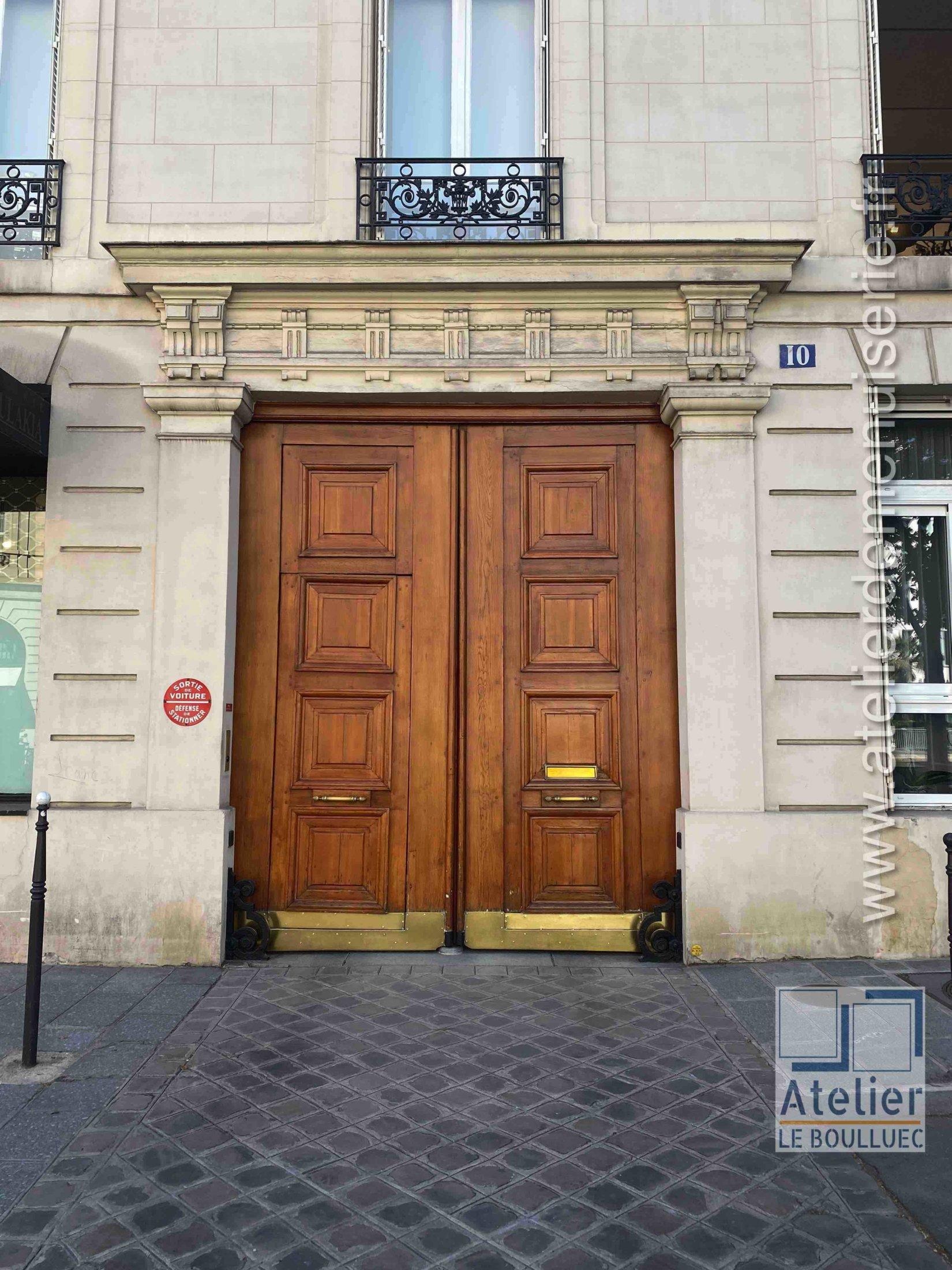 Porte Cochère - 10 AVENUE MATIGNON PARIS 8