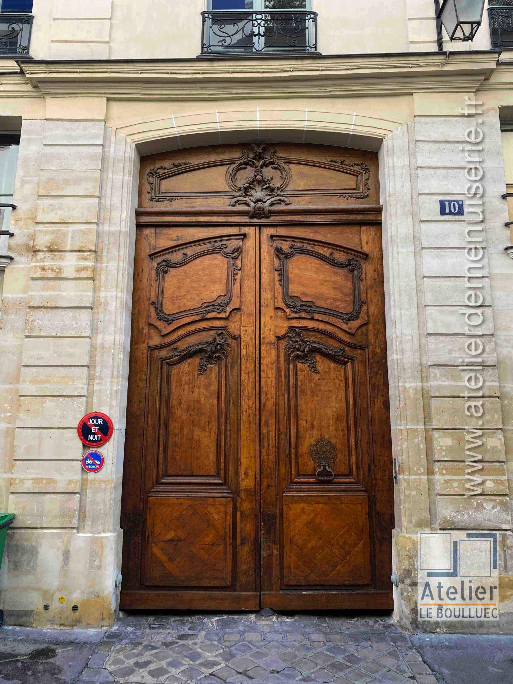 Porte Cochère - 10 RUE DE SAINTONGE PARIS 3