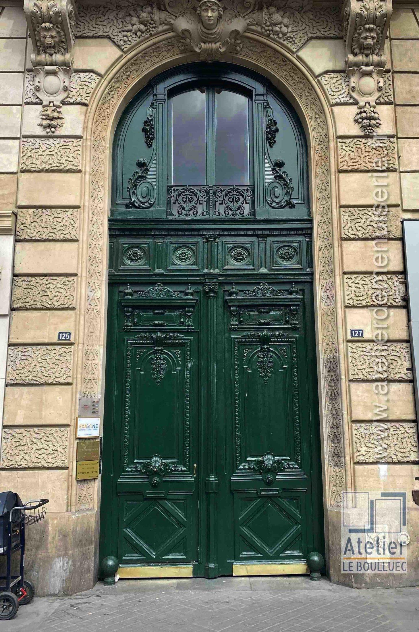 Porte Cochère - 125 RUE LA FAYETTE PARIS 10