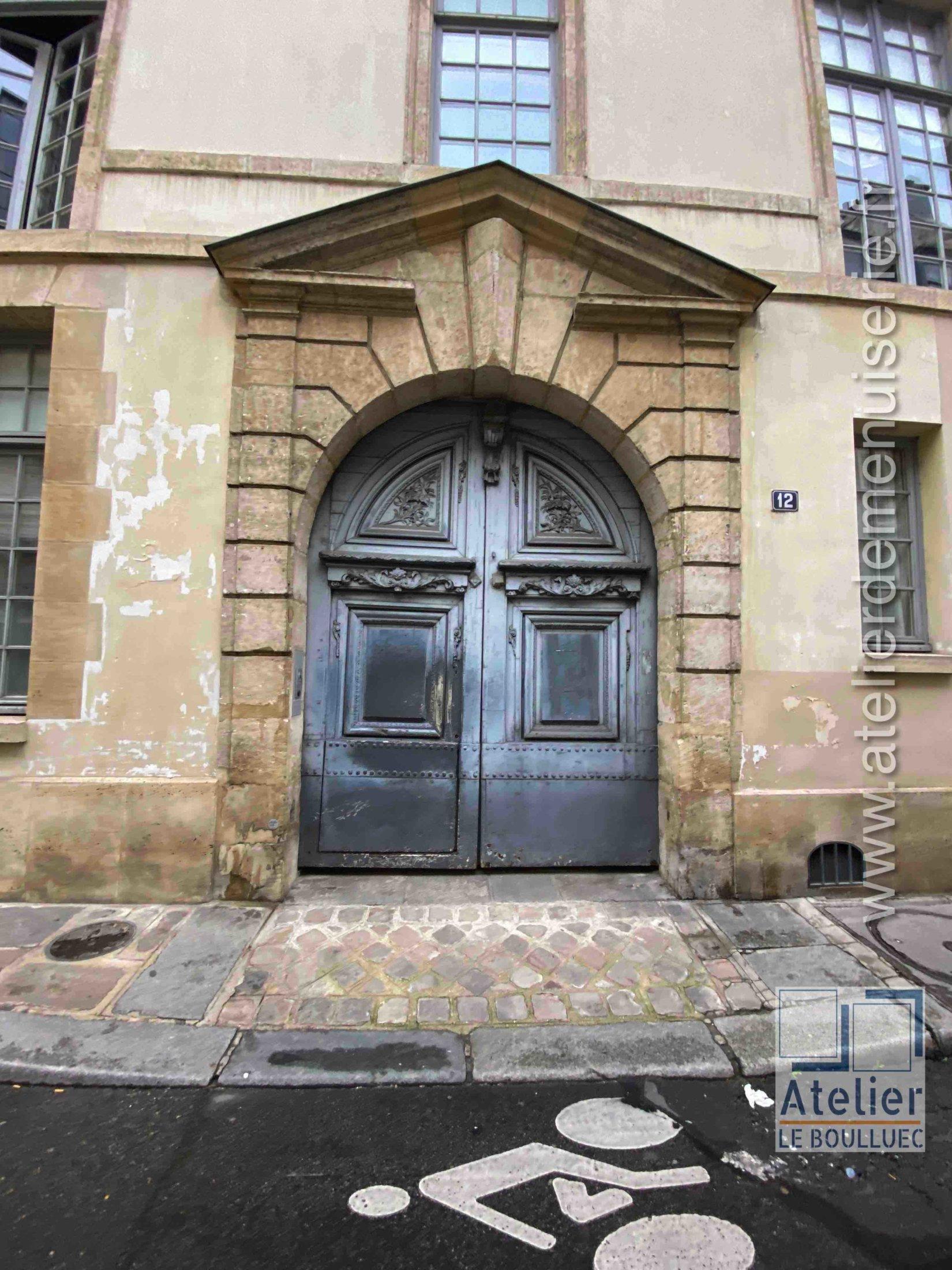 Porte Cochère - 12 RUE DES LIONS SAINT PAUL PARIS 4