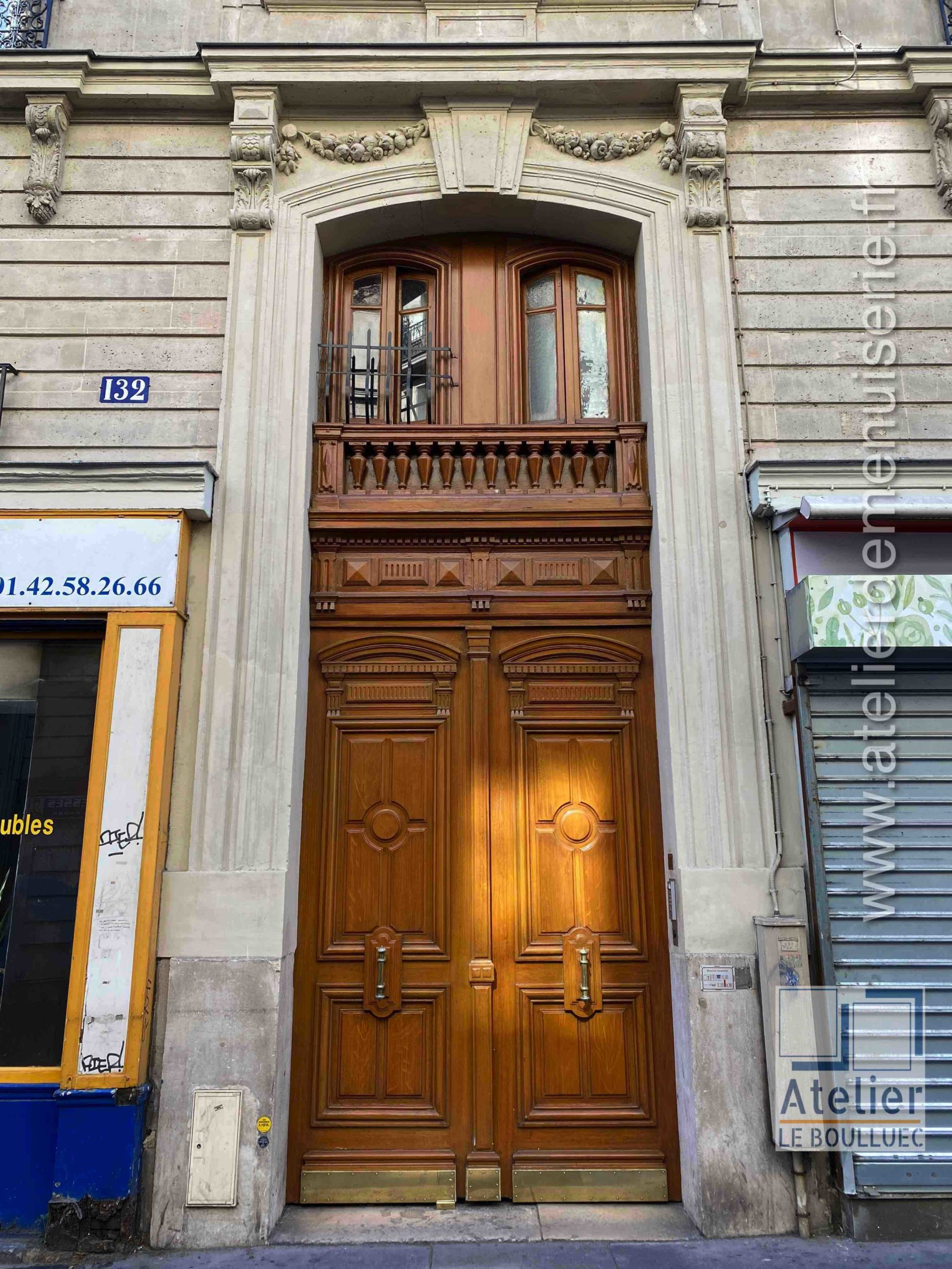 Porte Cochère - 132 RUE DAMREMONT PARIS 18
