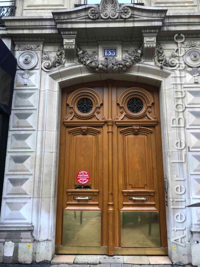 Porte Cochère - 133 BD HAUSSMANN PARIS 8