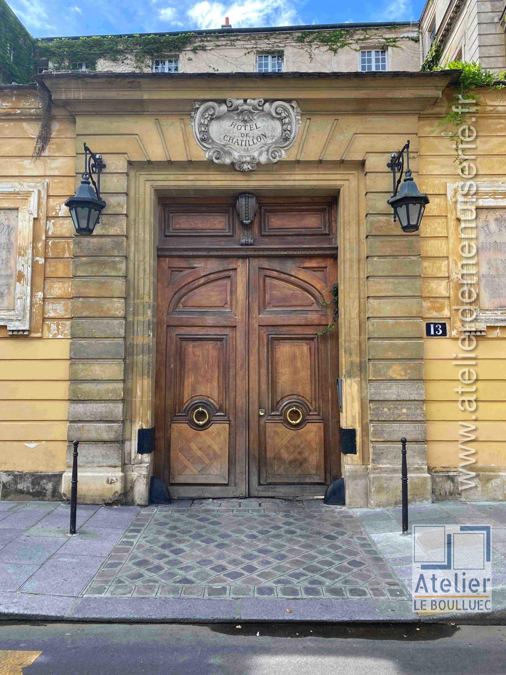 Porte Cochère - 13 RUE PAYENNE PARIS 3