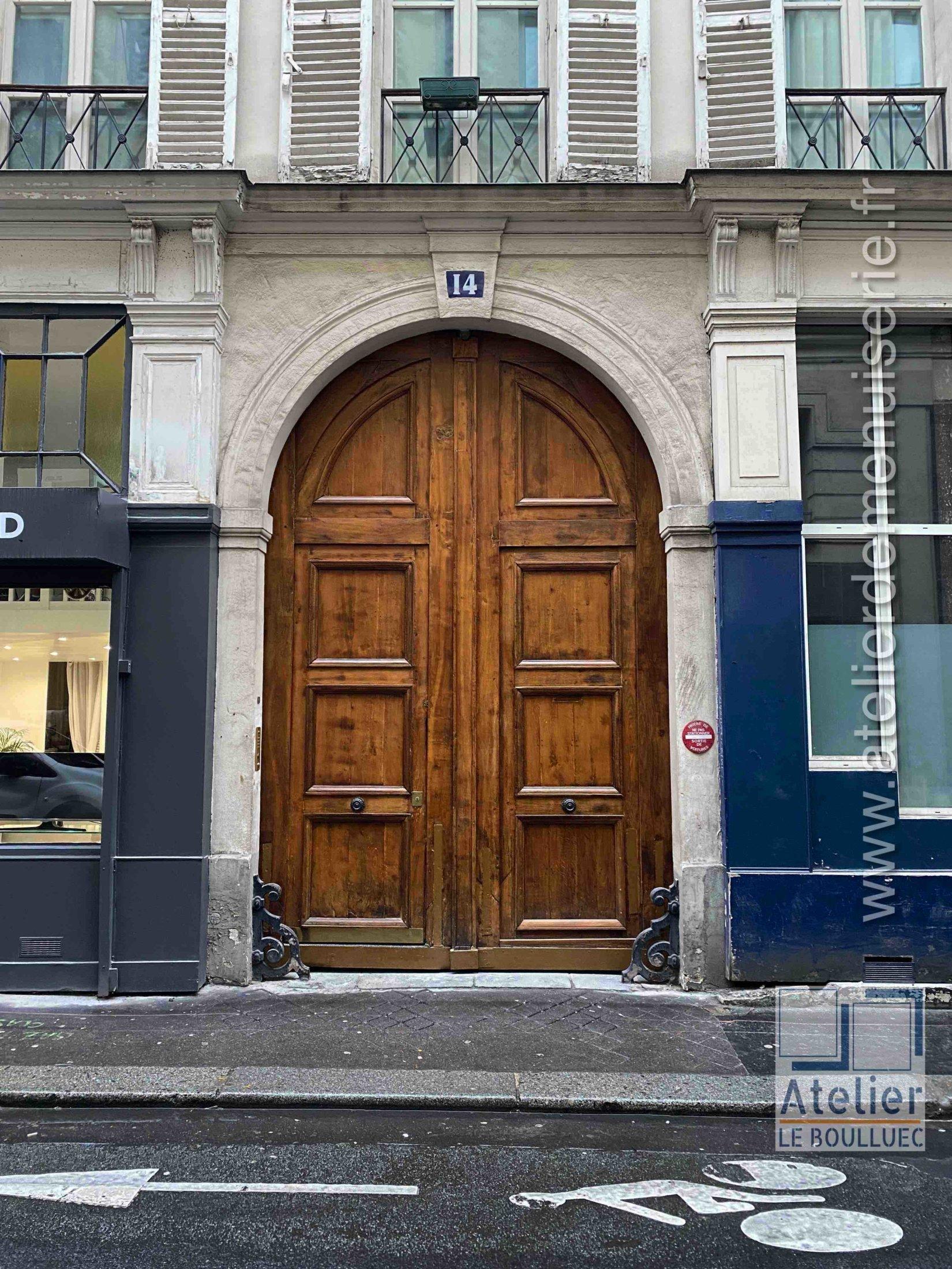 Porte Cochère - 14 RUE SAULNIER PARIS 9