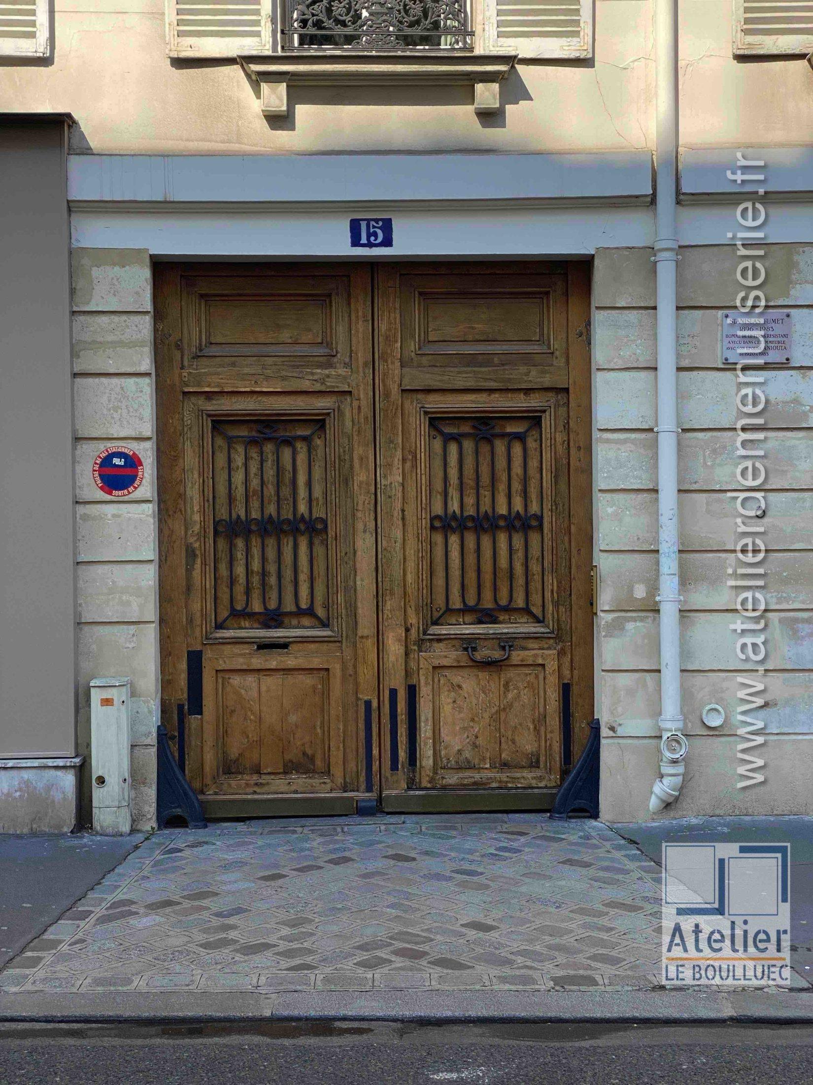 Porte Cochère - 15 RUE DE LINNE PARIS 5